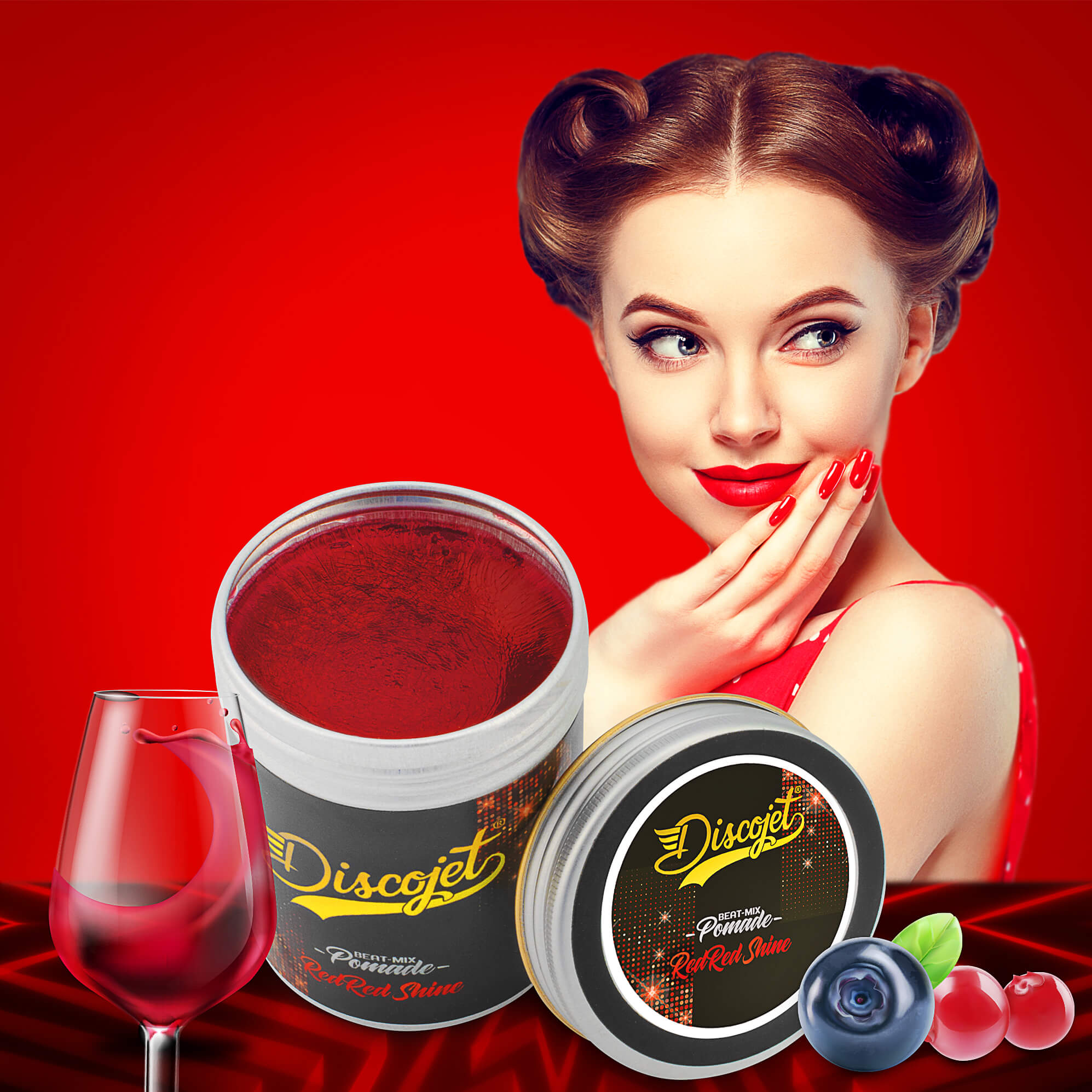 Red Red Shine Pomade